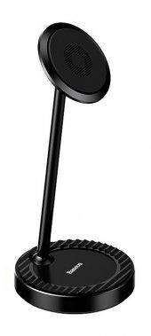 Baseus Circular Steady Masaüstü Metal Universal Telefon Tutucu Siyah