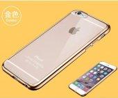 Iphone 5s 6s Kılıf İsecret Metalik Silikon Kılıf +kırılmaz Cam