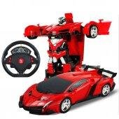 Uzaktan Kumandalı Robota Dönüşen Araba Ferrari