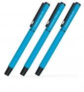 Kişiye Özel Mavi Metal Tükenmez Kalem (100 Adet) Model 40