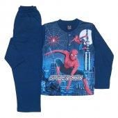 Dobakids Dijital Baskı Örümcek Adam Erkek Çocuk Pijama Takımı 4 10 Yaş