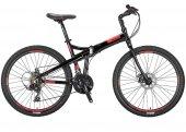 Mosso Marine 26 2d Katlanır Bisiklet Siyah Kırmızı