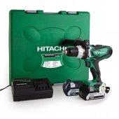 Hitachi Dv14dsdl 14.4volt 5.0ah Li İon Çift Akülü Darbeli Matkap