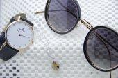 Daniel Klein Saat Ve Gözlük İle Gümüş Kombini