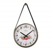 0634 B3 Retro Kayışlı Küçük Boy Duvar Saati