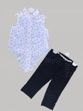 Inci Detaylı Pantolonlu Gömlek Takım