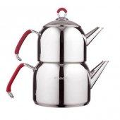 Emsan Anatolia Maxi Çaydanlık Takımı Kırmızı
