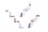 Dekoratif Steps Kitaplık Raf
