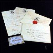 Harry Potter Hogwarts Davet Mektubu