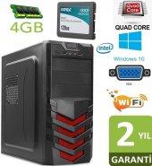 Quad Core Q8200 4çekirdek 120gb Ssd,4gb Ram,wifi,performance Pc