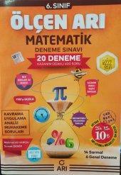 Arı Yayınları 6. Sınıf Matematik 20 Deneme Sınavı