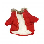 Köpek Elbisesi Xl Boy Kırmızı