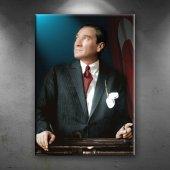 Mustafa Kemal Atatürk Portre Dekoratif Kanvas Tabl...
