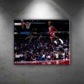 Michael Jordan Chicago Bulls 5 Kanvas Tablo