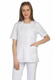 Tipmod Doktor Hemşire Forması Bayan 112 B Tek Üst Kare Yaka Forma