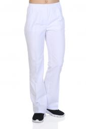 Tipmod Doktor Hemşire Pantolonu Bayan 130 B Tek Alt Beyaz Pantolo