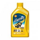 Shell Advance 4t Ax5 15w50 Motosiklet Yağı 1l