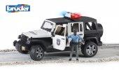 Bruder Jeep Wranger U.r. Polis Aracı Ve Siyahi Memur Br02527