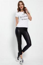 The İconic Woman Beyaz Bayan T Shirt