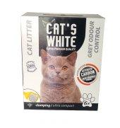 Cats White Süper Premium Aktif Karbonlu Kedi Kumu 6 L