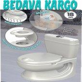 Bebek Lüks Lazımlık ,alıştırma Tuvaleti ,ses Efektli
