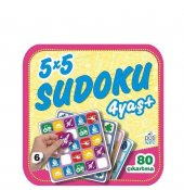 Pötikare Yayıncılık 5x5 Sudoku 4+ Yaş 6.kitap
