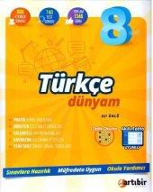 Artıbir Yayınları 8. Sınıf Türkçe Dünyam