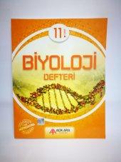 Açık Ara Yayınları 11. Sınıf Biyoloji Defteri