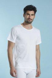 ödül 7050 Erkek Klasik O Yaka Klasik Beyaz Tişört