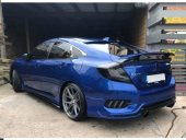Honda Civic Fc5 2016 2019 Sı Spoiler Mavi Boyalı