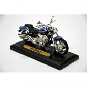 2011 Raider S 1 18 Model Motorsiklet Mavi (Motormax)