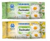 Freshmaker 100 Lü Papatya Chamomile Islak Havlu 24 Adet (1 Koli)