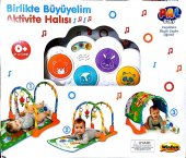Pal Baby Birlikte Büyüyelim Aktivite Oyun Halısı Pal 00405