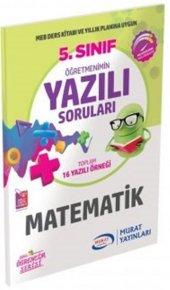 Murat Yayınları 5. Sınıf Matematik Öğretmenimin Yazılı Soruları
