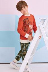 Rolypoly 1305 Erkek Çocuk Pijama Takım