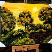Doğa Manzaralı Yağlı Boya Tablolar