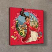 Prenses Elena 50x50 Cm Kanvas Tablo