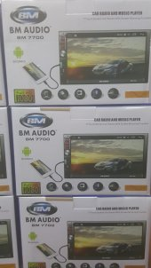Bm Audio 7' ' Fullhd Usb Sd Bt Mirrorlink Mp3 Mp4 Mp5 Mkv Flv Telefon Ekranını Komple Aktarma