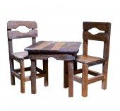 Ahşap Minyatür Masa Sandalye