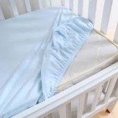 Aqua Bebe Lastikli (Fitted) Bebek Çarşafı