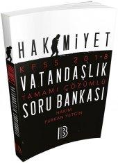 Benim Hocam Yayınları 2018 Kpss Hakimiyet Vatandaşlık Tamamı Çözümlü Soru Bankası