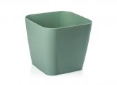 Serinova Sf01 Safir Kare Saksı 0.8 Lit Su Yeşili