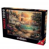 Anatolian 1000 Parça Sahildeki Konak Puzzle Chuck Pinson