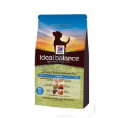 Hills Ideal Balance Tavuk Esmer Pirinç Yavru Köpek Maması 12 Kg
