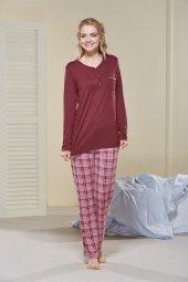 Pjs Poliviskon Patlı Bayan Pijama Takımı 20426