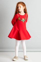 Christmas Bird Kız Çocuk Elbise