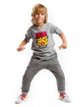 Denokids Street Style Erkek Çocuk Sweat Pantolon Takım