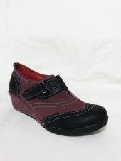 Vicco 949.l.129 Mürdüm Cırtlı Kız Çocuk Ayakkabısı Ücretsiz Kargo
