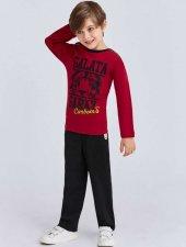 Rolypoly Çocuk Lisanslı Galatasaray Kırmızı Pijama Takımı 9890