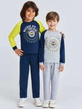 Rolypoly Çocuk Lisanslı Fenerbahçe Lacivert Eşofman Takımı 9882